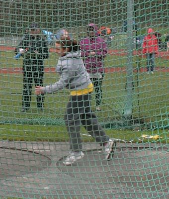 Cheshire League R1 2013 - U13G Discus