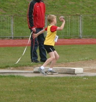 Cheshire League R1 2013 - U13B Shot Putt