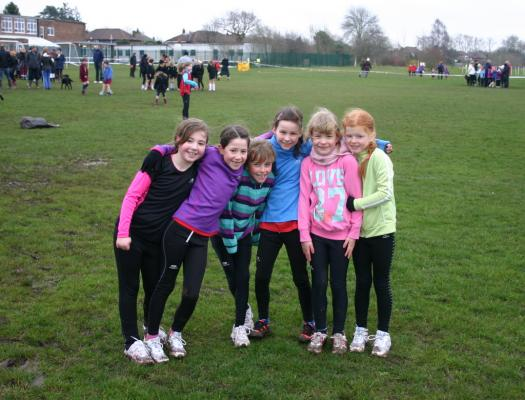 Y3/4 Girls training group 2013/14