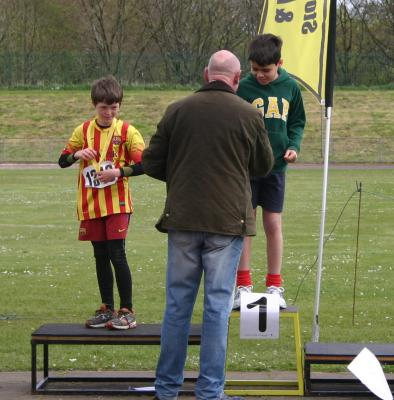 W & H - Javelin Comp. Club Champs 2014