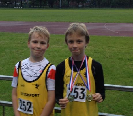 Bury AC Young Athletes Mini League - 12 June 2013
