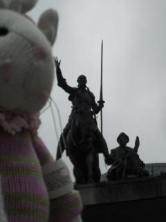 Chase meets Don Quixote in Brussels !